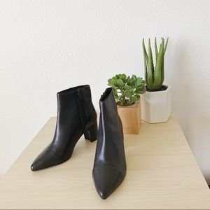 SEYCHELLES no one like you black leather booties